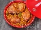 Рецепта Марокански тажин с пиле и нахут